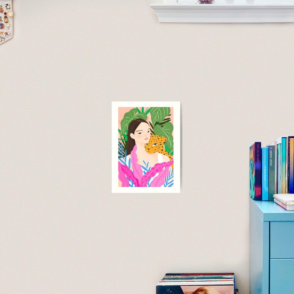 Lean on Me Art Print