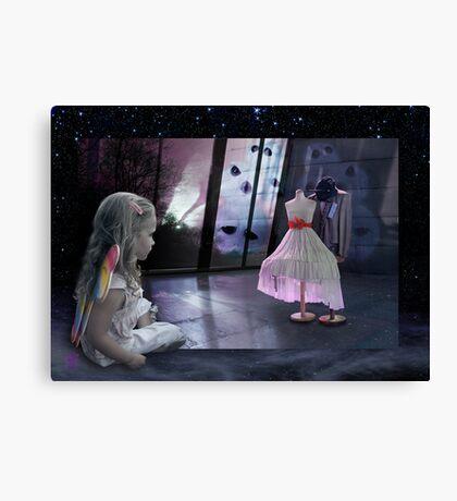 Alice&TheBall Canvas Print