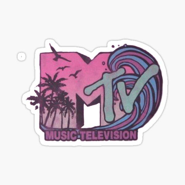 mtv Sticker