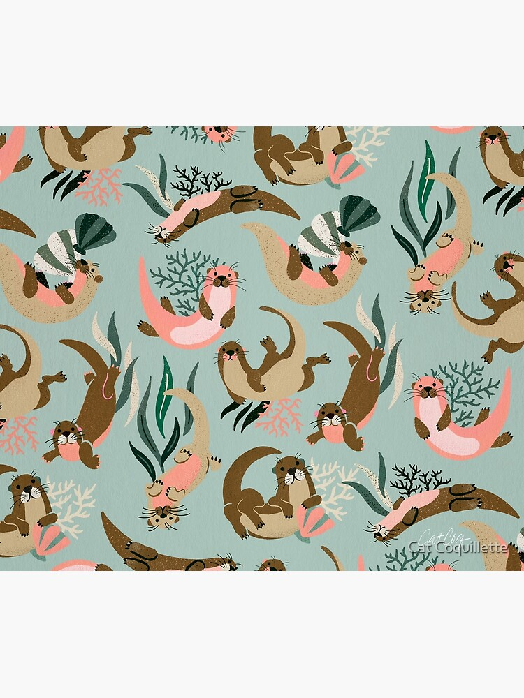 Otter Collection - Mint Palette by catcoq