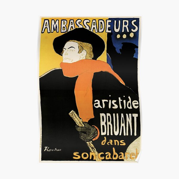 A Great National Novel by Aristide Bruant Vintage French WW1 Propaganda Poster