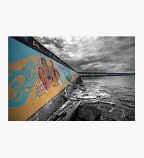 Land & Sea Mural Photographic Print