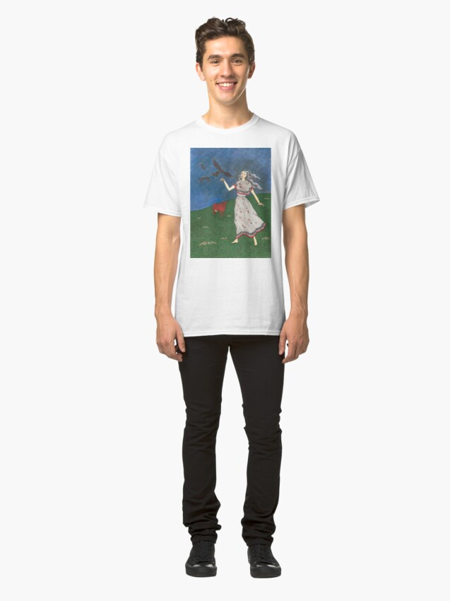 Alternate view of The Morrigan: Great Queen Classic T-Shirt