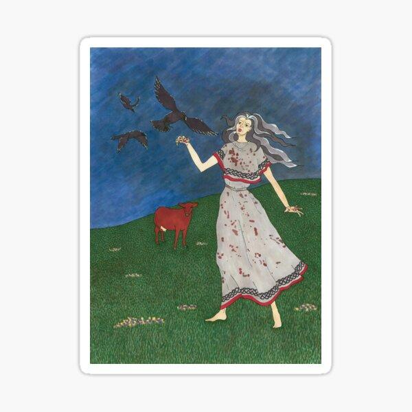 The Morrigan: Great Queen Sticker
