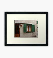 """Miniature"" Window Framed Print"
