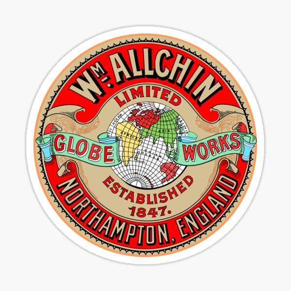 Allchin Traction Engine Logo Sticker