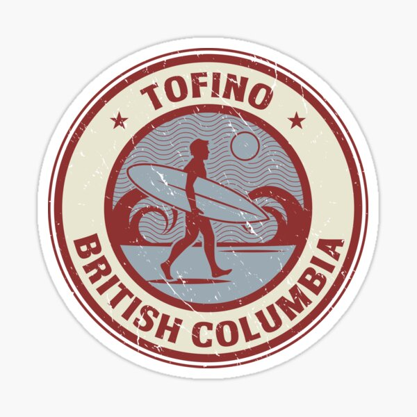 Tofino, British Columbia Sticker