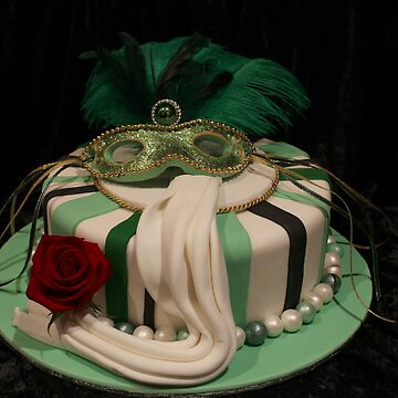 Masquerade Cake by Chanel2