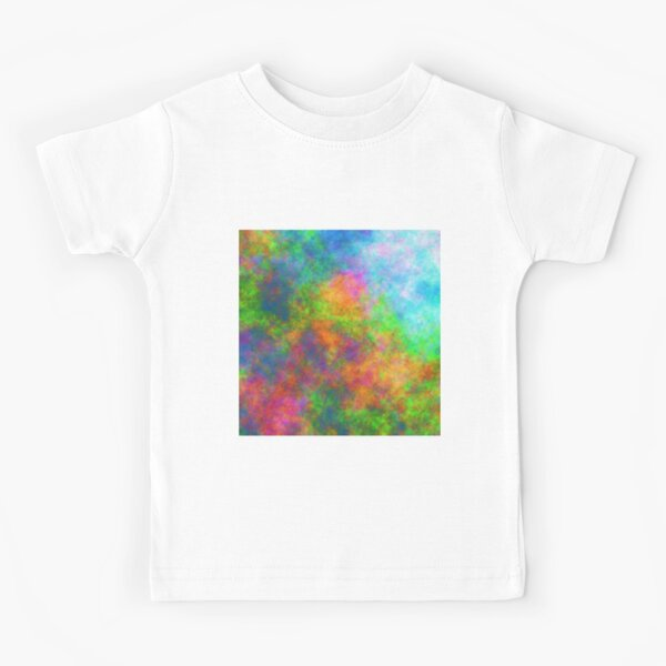 Abstraction of underwater forest Kids T-Shirt