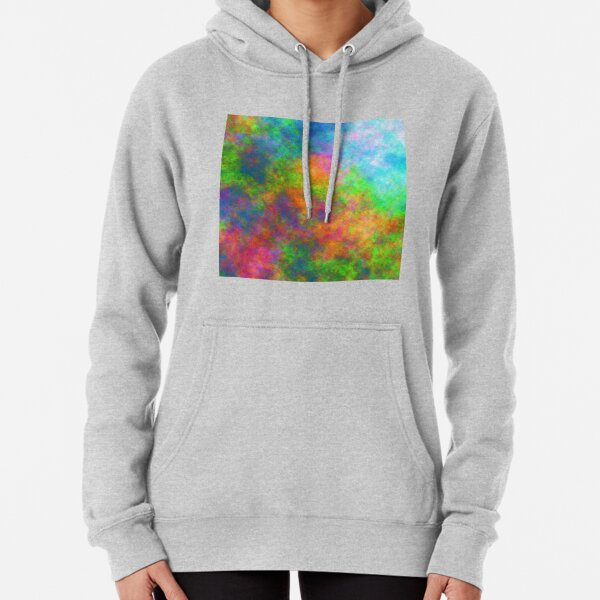 Abstraction of underwater forest Pullover Hoodie