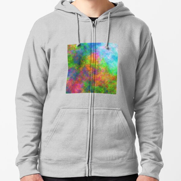 Abstraction of underwater forest Zipped Hoodie