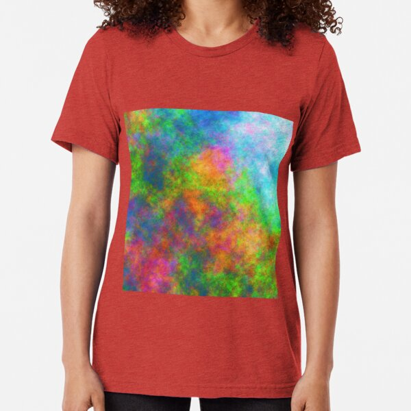 Abstraction of underwater forest Tri-blend T-Shirt