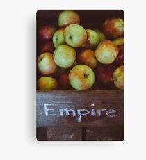Empire Apples Canvas Print