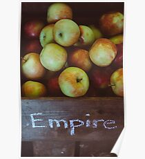 Empire Apples Poster