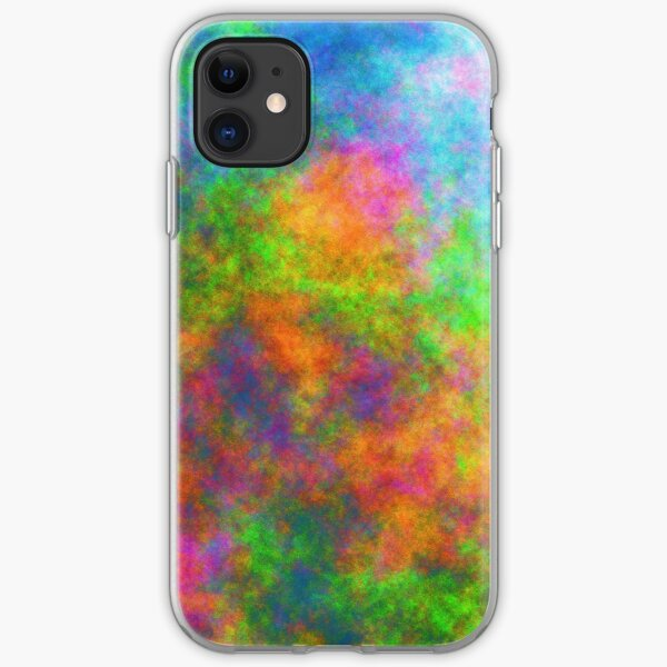 Abstraction of underwater forest iPhone Soft Case