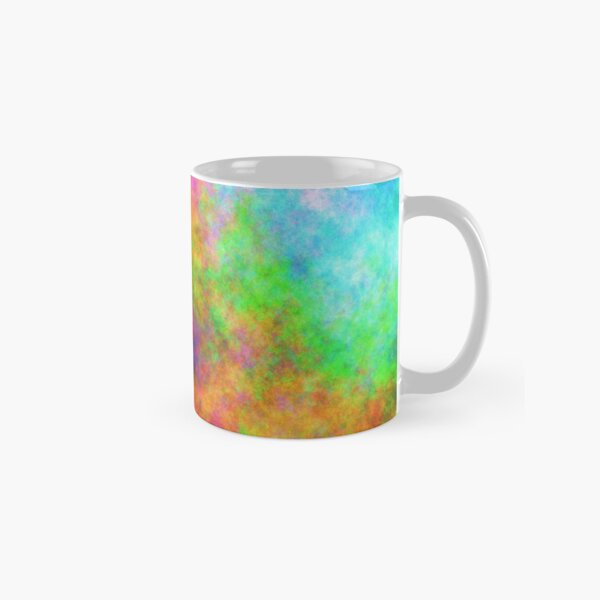 Abstraction of underwater forest Classic Mug