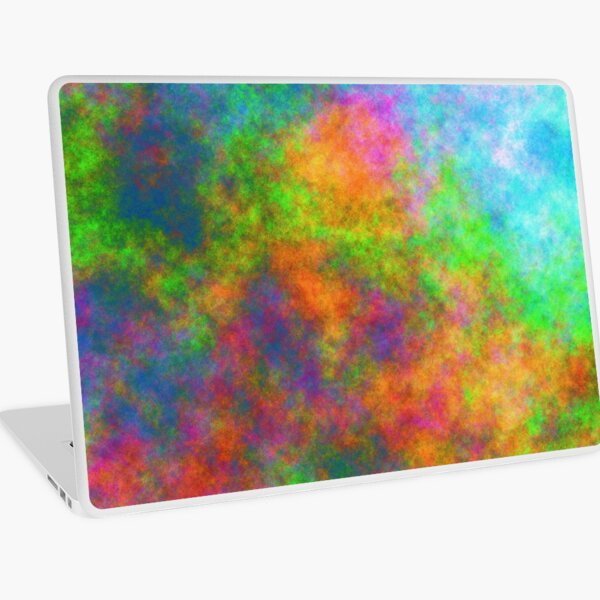 Abstraction of underwater forest Laptop Skin
