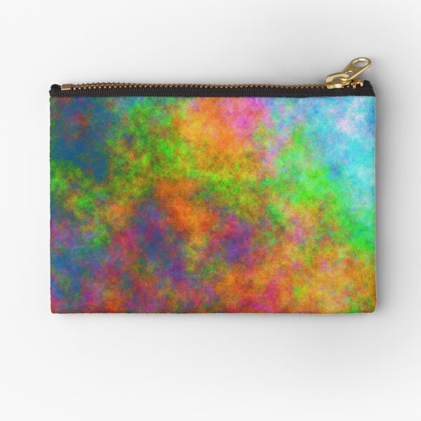 Abstraction of underwater forest Zipper Pouch
