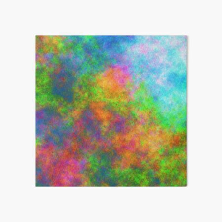 Abstraction of underwater forest Art Board Print