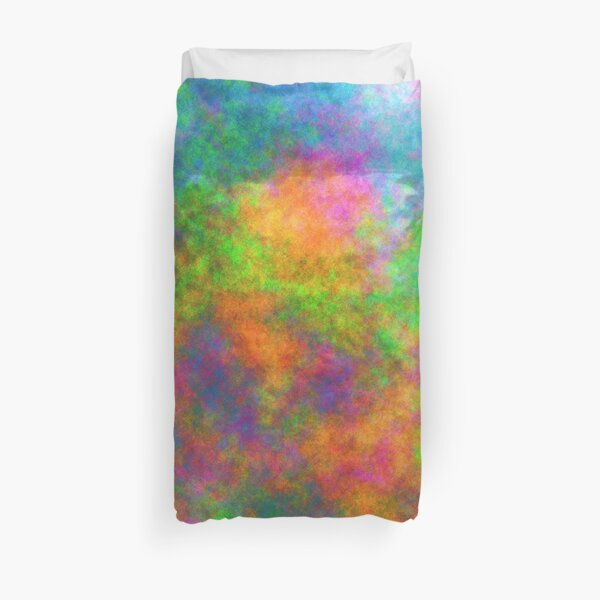 Abstraction of underwater forest Duvet Cover
