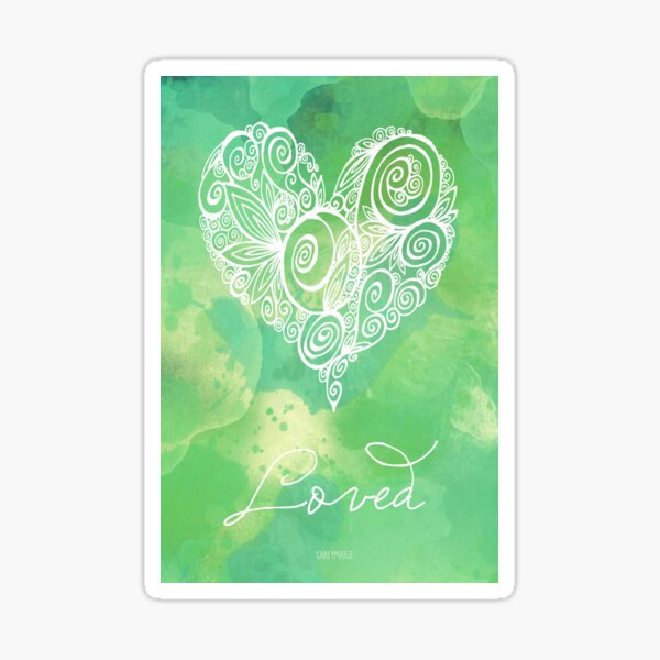 Heart Chakra - Loved Sticker