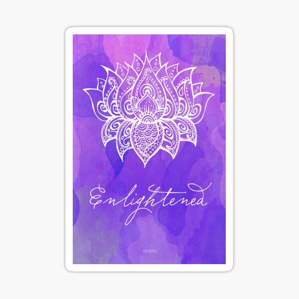 Crown Chakra - Enlightened Sticker