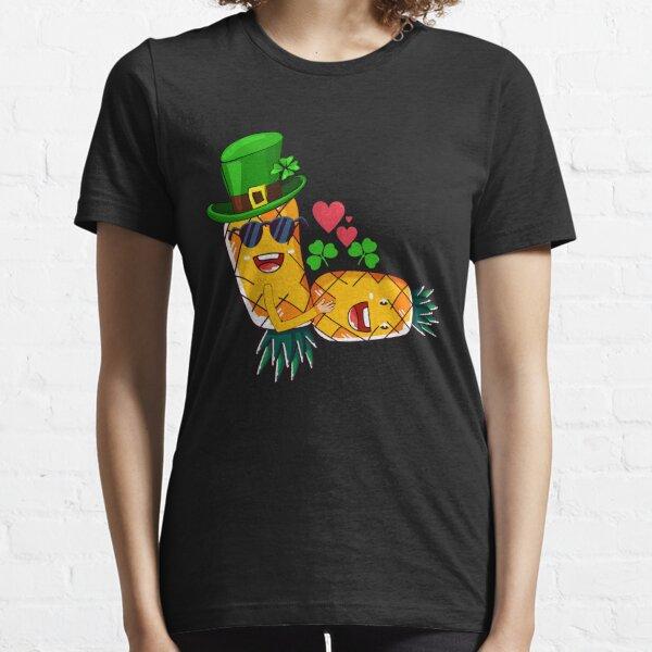 Leprechaun Upside Down Pineapple Having Sex Essential T-Shirt