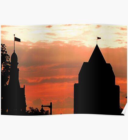Milwaukee Sunset © Poster
