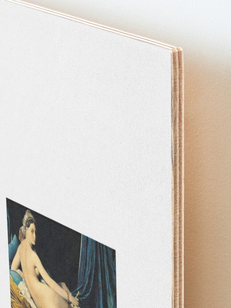 Alternate view of Ingres - La Grande Odalisque 1814 Mounted Print