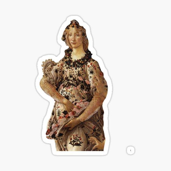 Primavera Botticelli Sticker