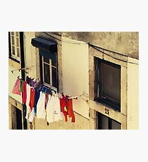 Laundry Day Photographic Print