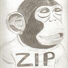 ZIP the Monkey by JonWyns5669