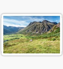 The Langdale Pikes Lake District Sticker