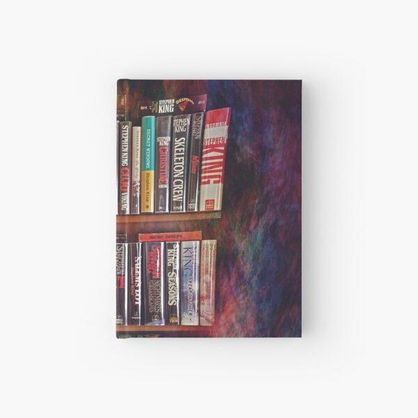 Stephen King Books on Shelves Hardcover Journal