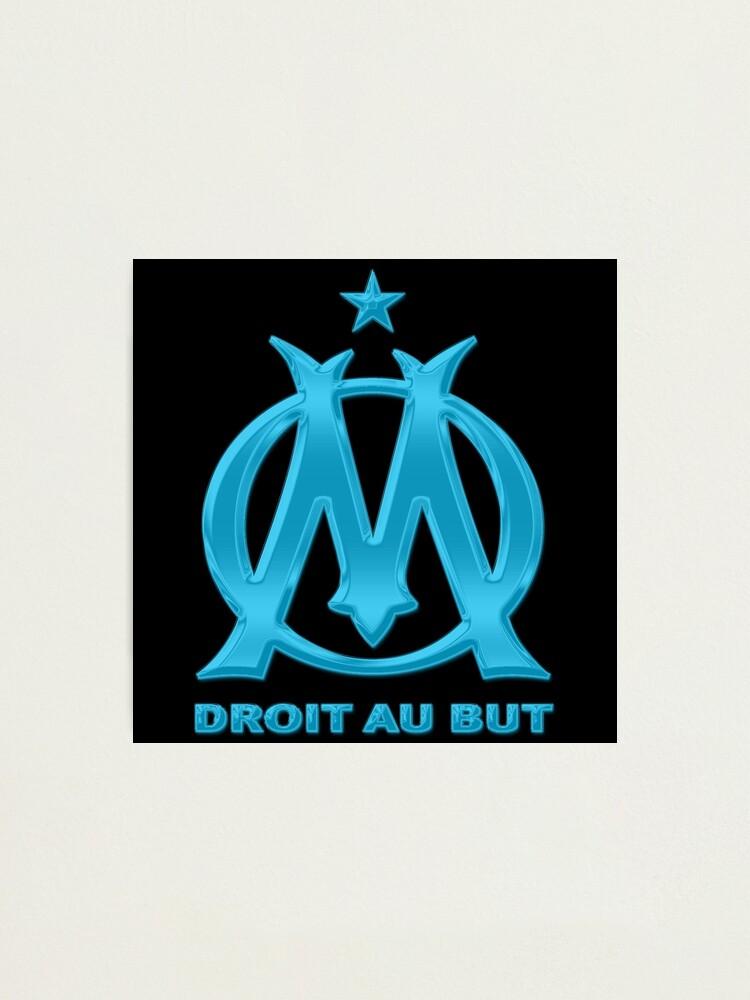 Impression photo ''olympique de marseille logo': autre vue
