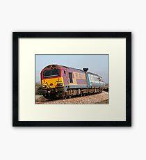 Class 67 vintage diesel loco 67022 Framed Print