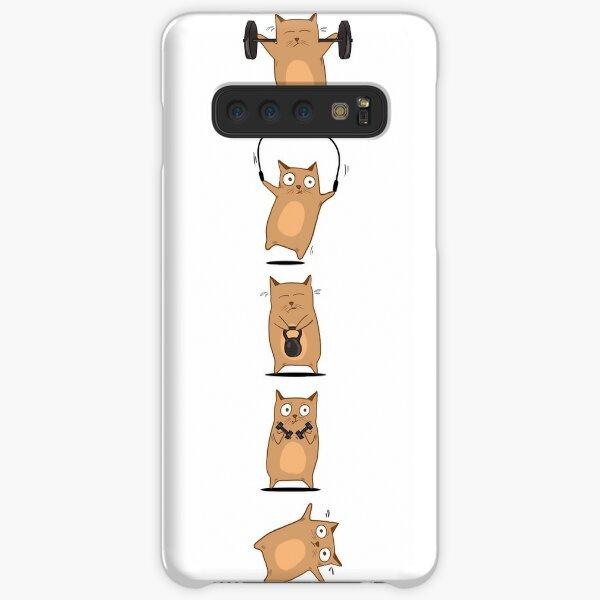 FITNESS CAT  Samsung Galaxy Snap Case