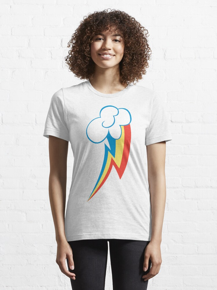 Alternate view of Rainbow Dash CM Essential T-Shirt