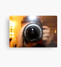 Photo Photographer Metal Print