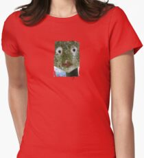 Funny Face - JUSTART © Womens Fitted T-Shirt