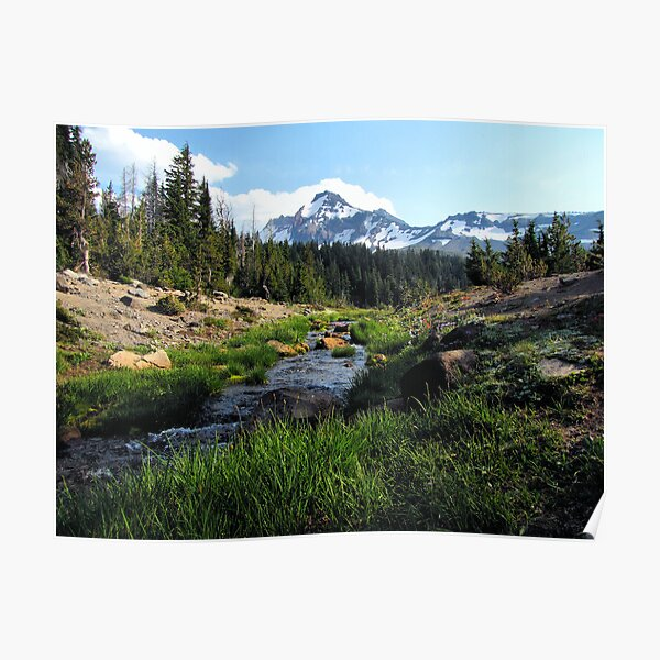 Broken Top Three Sisters Wilderness, Oregon Poster