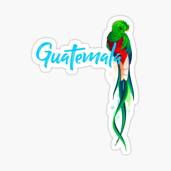 Guatemala Quetzal Pegatina