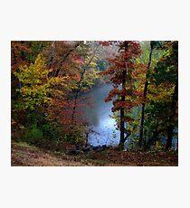 October Rain Photographic Print