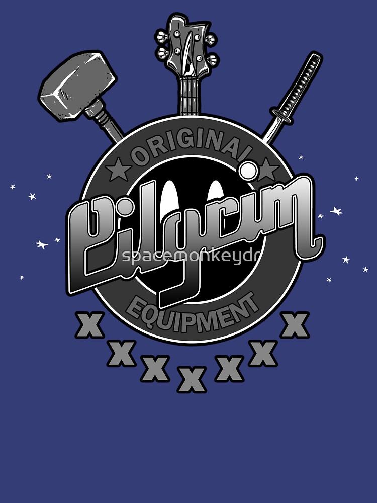 Pilgrim Bass Guitars- Scott Pilgrim by spacemonkeydr