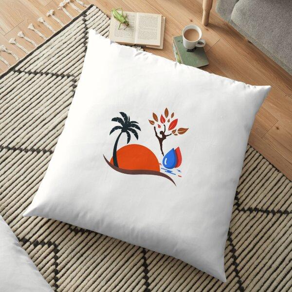 Nature desgine  Floor Pillow