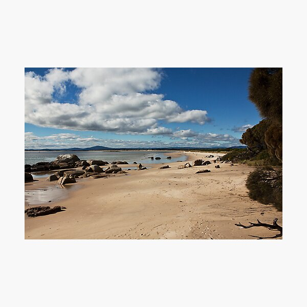 Bridport Beach, northern Tasmania Photographic Print