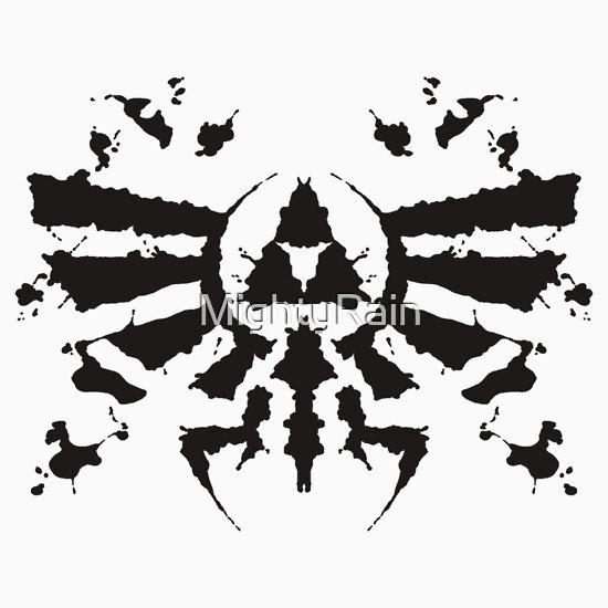 TShirtGifter presents: Hyrule Rorschach
