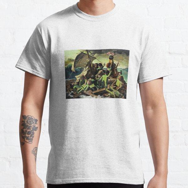 Balsa de la Medusa Sollier Parodia de Playmobil Camiseta clásica