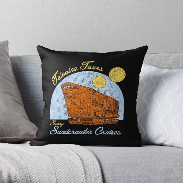 Tatooine Tours Throw Pillow
