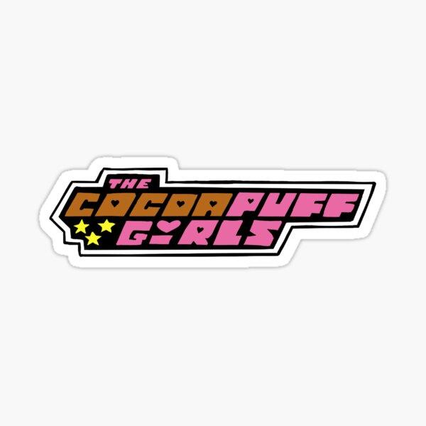 Cocoa puff girls Sticker